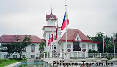 Balcony of the Aguinaldo Mansion, where the independence of the Philippines was proclaimed on June l2, 1898 by General Emilio Aguinaldo