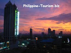 Sunset at Ortigas Center Pasig